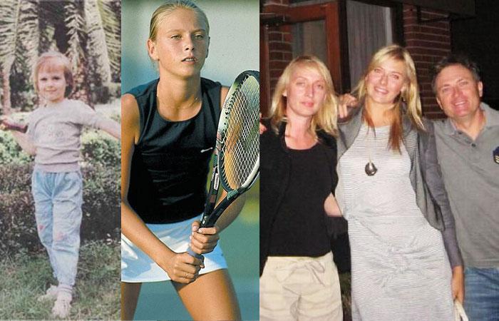 Maria Sharapova Childhood Photo Collections