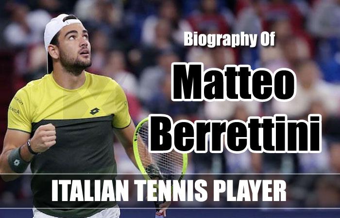Matteo Berrettini Tennis Player Biography