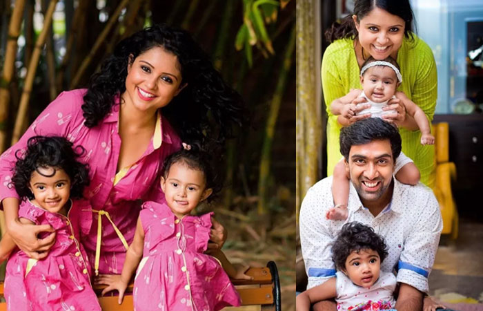 Ravichandran Ashwin Beautiful Family Photos