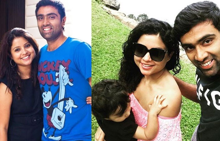 Ravichandran Ashwin Beautiful Wife Narayanan Prithi and Kids