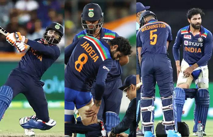 Ravindra Jadeja got dismissed from the Rest of the T20 vs Australia due to his Injury