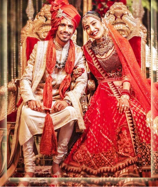 Stunning Pictures of Dhanashree Verma and Yuzvendra Chahal Wedding