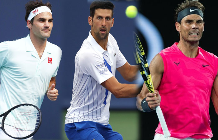 Top Tennis Stars Djokovic, Federer and Nadal Placed in ATP Awards 2020