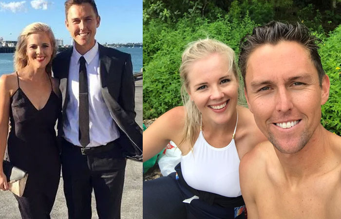 Trent Boult Wife Gert Smith