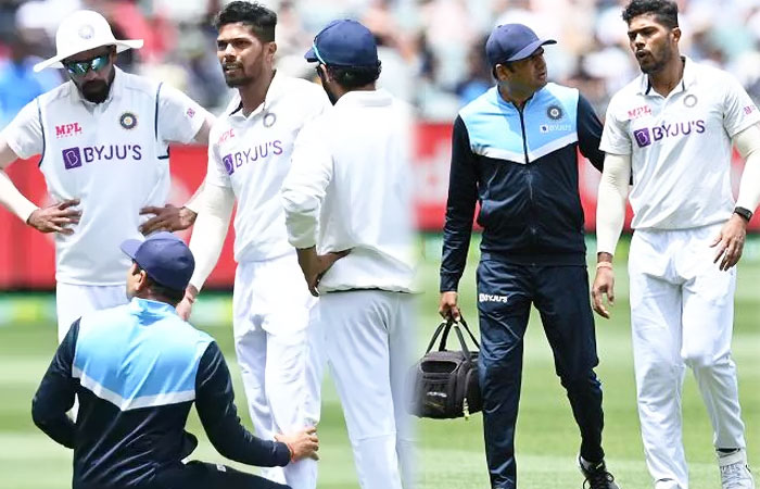 Umesh Yadav Injured his Leg and his Presence in 3rd Test is Suspicious