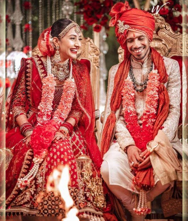 Yuzvendra Chahal vs Dhanashree Verma Stunning wedding collections