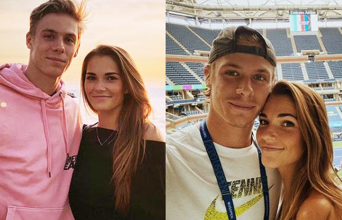 denis shapovalov girlfriend Mirjam Bjorklund