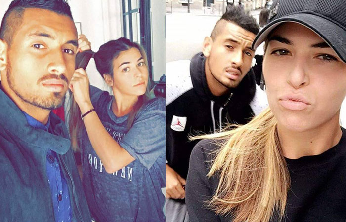 nick kyrgios Girlfriend ajla tomljanovic Photos