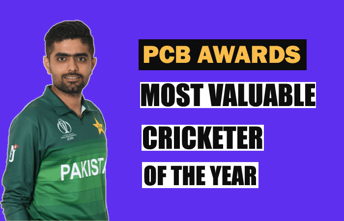 Babar Azam Becomes the Most Valuable Cricketer of the Year in PCB Awards
