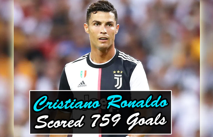 Cristiano Ronaldo Equals Josef Bican by Scoring 759 Goals in his Football Career