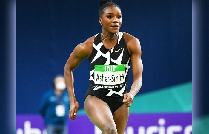 Dina Asher-Smith Became the World's Leading Player in 60m Running