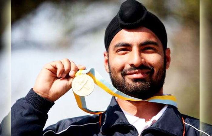 Gurpreet and Niveditha won the 25-meter rapid pistol title with 580 and 540