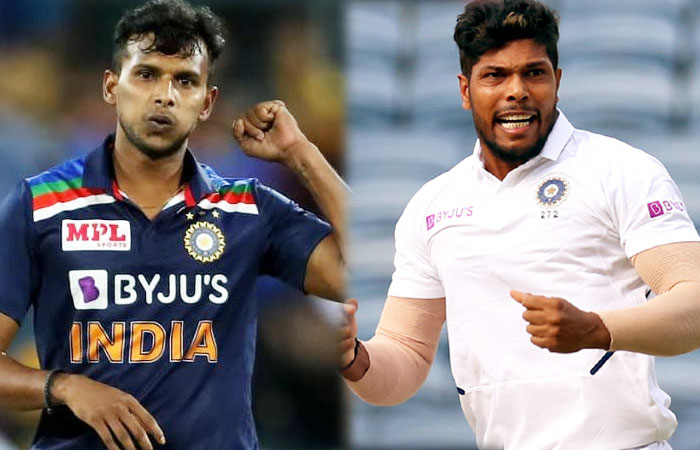 IND vs AUS : T Natarajan Replaces Umesh and Rohit Sharma as Vice-Captain for Remaining Test