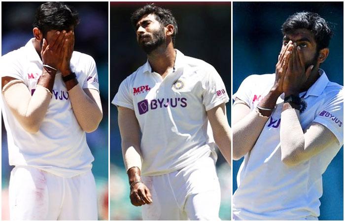 Jasprit Bumrah in IND vs AUS 2021 Test