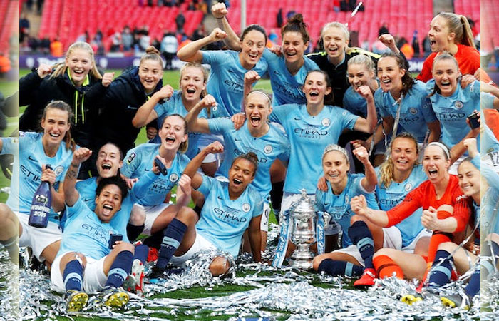 Manchester City's Four Women Football Players Affected by COVID-19