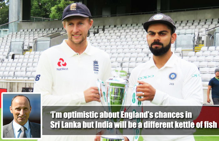 Nasser Hussain Hopes England Can Overcame Sri Lanka but Seems Difficult for India