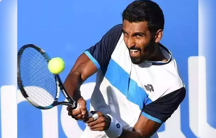 Indian Player Prajnesh Enters the Second Round in Australian Open Qualifiers