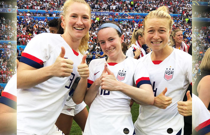 Samantha Mewis Hat-Trick Performance Brings Victory to US Against Colombia