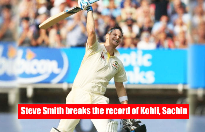 Steve Smith Breaks the Record of Kohli, Sachin by his 27th Century in Test