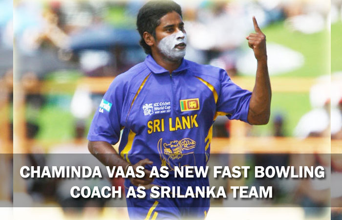 Chaminda Vaas Appointed as Sri Lanka Team Fast Bowling Coach