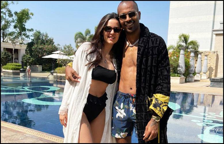 Hardik-Pandya-With-Wife-Natasa-Stankovic-on-Swimming-Pool-Photos