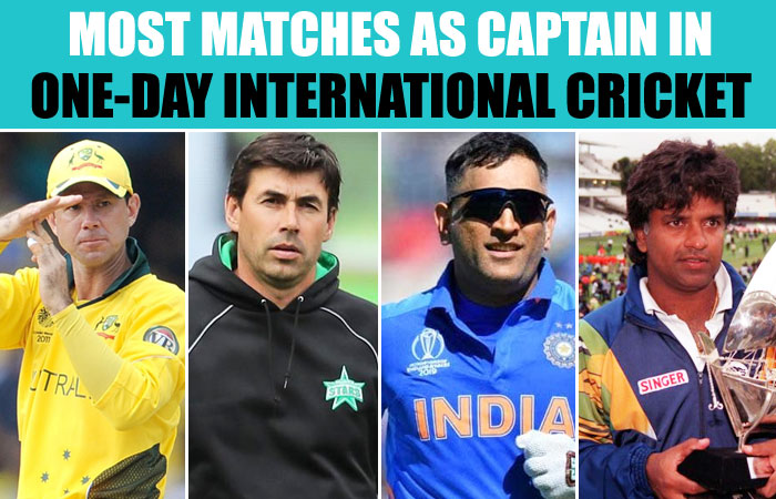 Most Matches as Captain in One-Day International Cricket