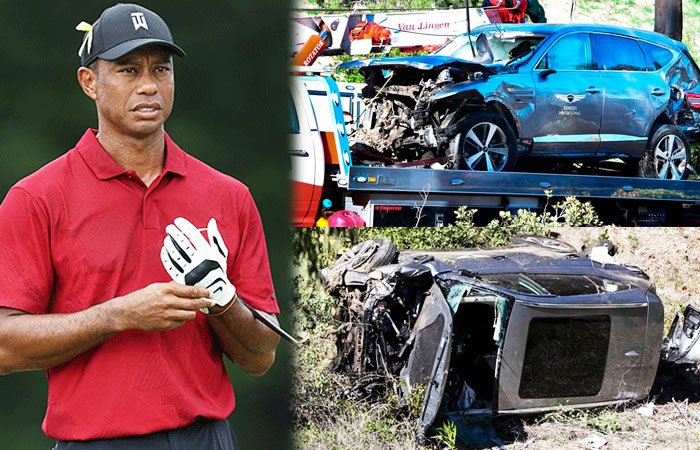 Tiger Woods Suffered Multiple Leg Injuries After Car Crash in California