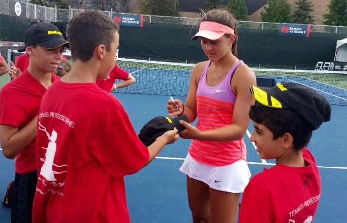 Bianca Andreescu starting tennis Carrier photos