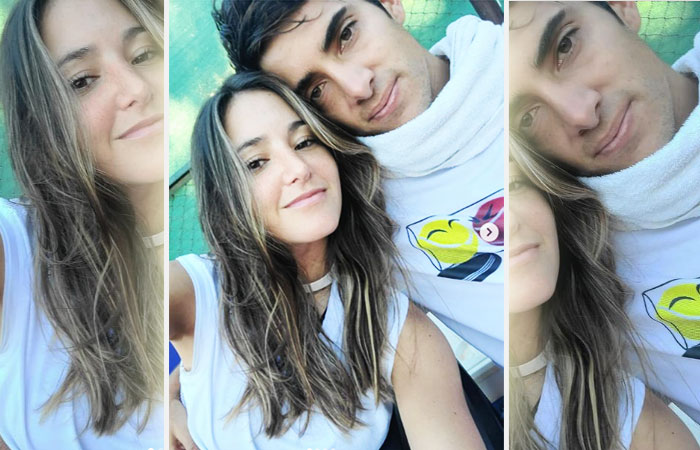 Cristian Garin With Girl friend