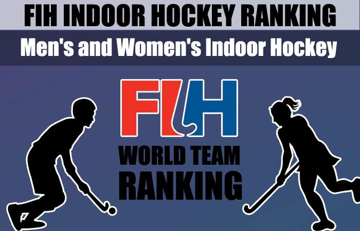 FIH Men's and Women's Indoor Hockey Ranking