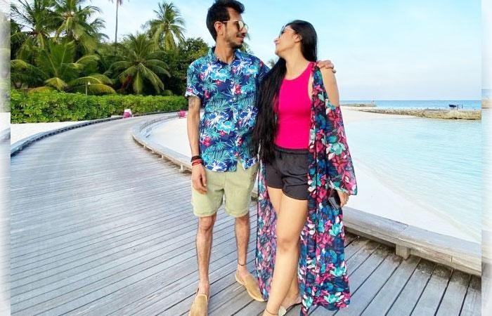 Yuzvendra-Chahal-and-Dhanashree-Verma-Honeymoon-Maldive-Pics