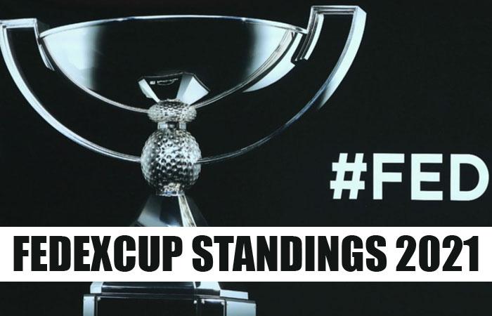FedExCup Standings 2021 Player Rankings