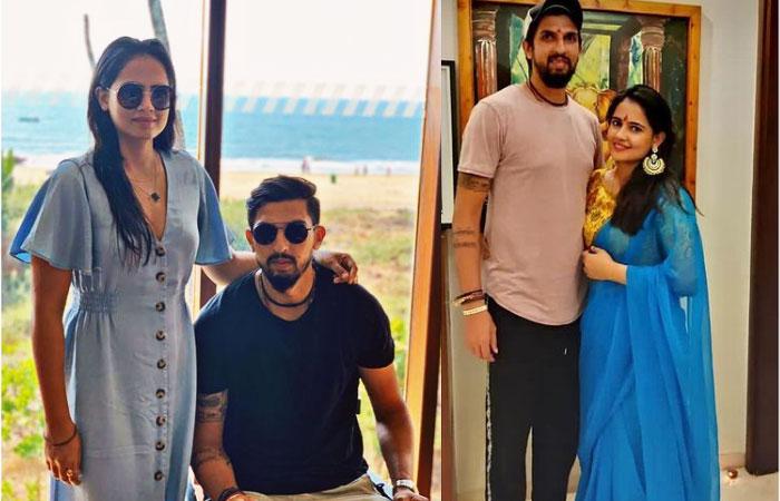 Ishant Sharma With Wife Pratima Singh Colorful Photos