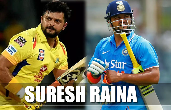 Suresh Raina Cricket Player Profile