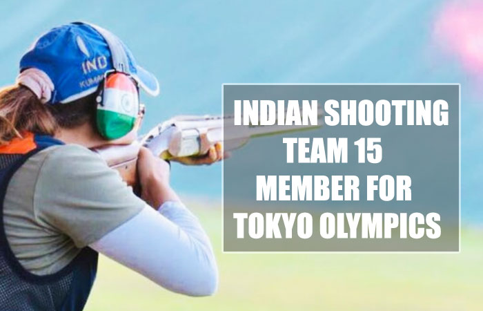 Tokyo Olympics: India Released 15 Members Name for Shooting Team