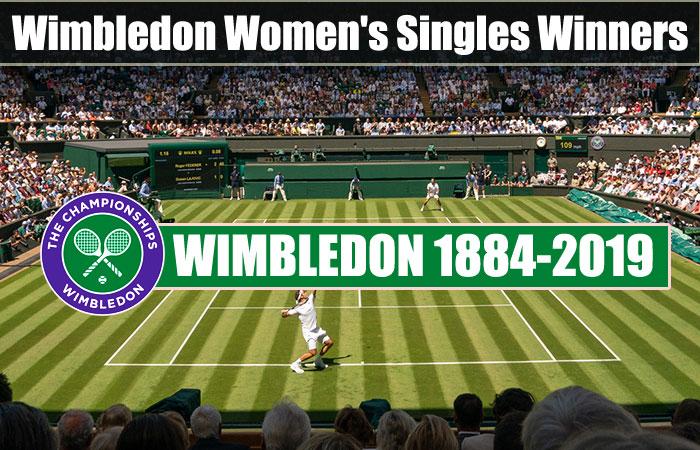 Wimbledon Women's Singles Winners