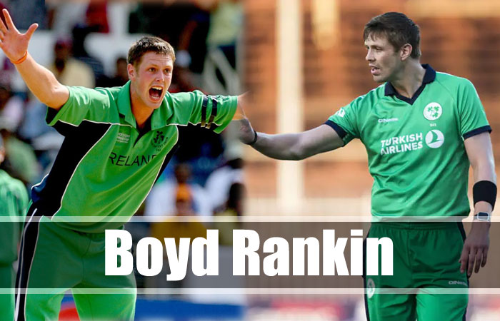 Boyd Rankin Tallest Cricket Player