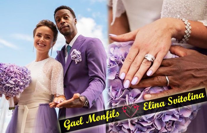 Tennis Couple stars Gael Monfils and Elina Svitolina Tied the Knot