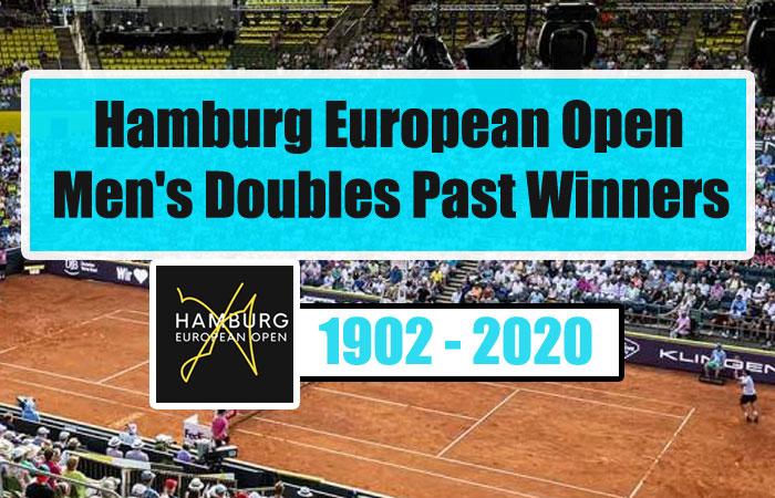 Hamburg European Open Men's Doubles Past Winners