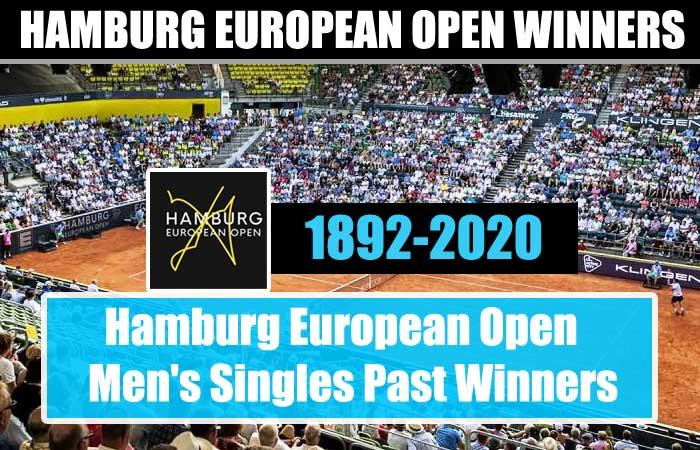 Hamburg European Open Men's Singles Past Winners