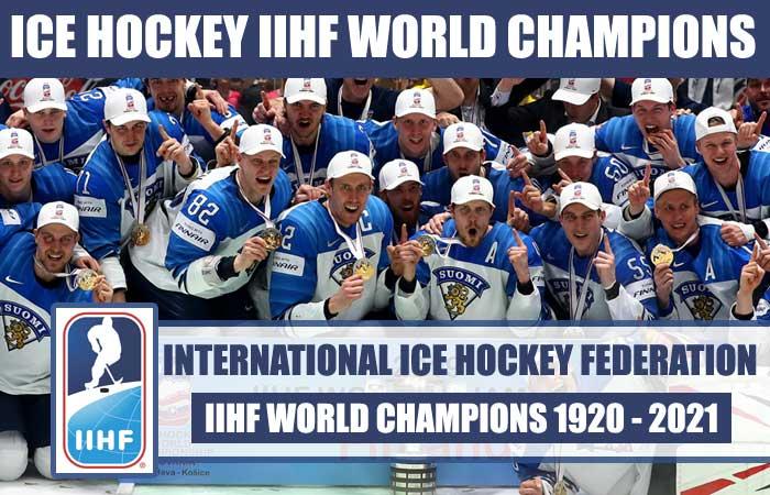 Ice Hockey IIHF World Championships List
