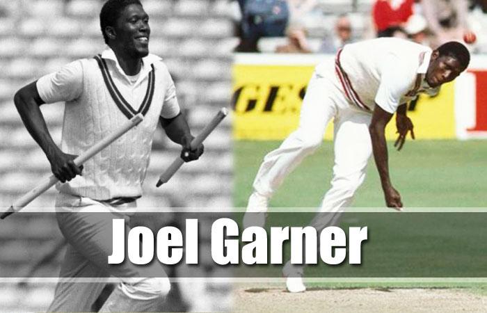 Joel Garner Tallest Cricket Player