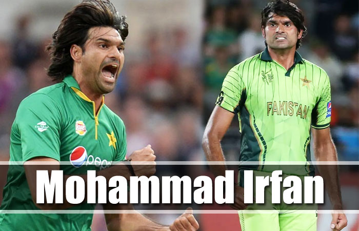Mohammad Irfan Tallest Cricket Player