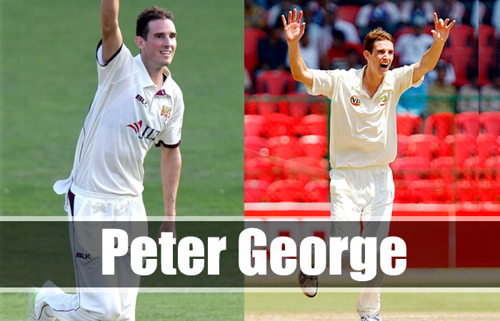 Peter George Tallest Cricket Player