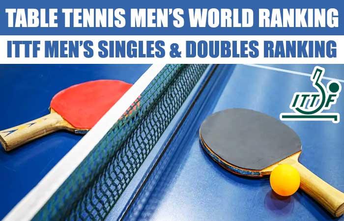 Table Tennis ITTF Men's World Ranking