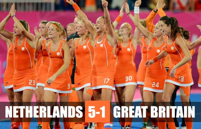 Tokyo Olympics: Netherlands Reached Women's Hockey final with 5-1 win over Britain