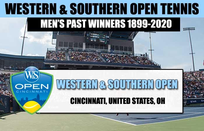 Western & Southern Open Men's Past Winners List 1899-2020